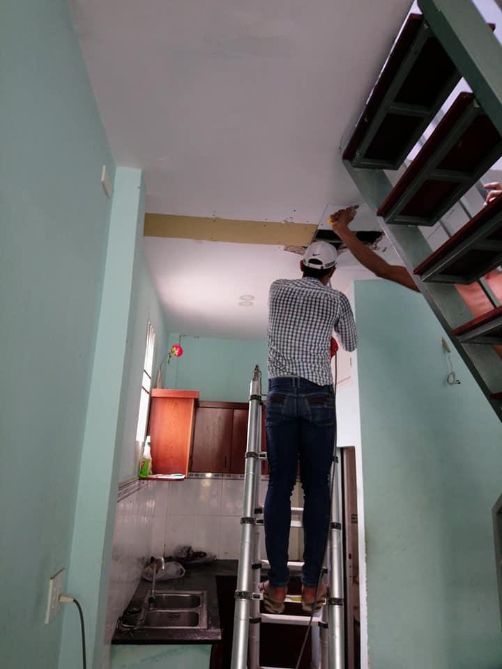 Đóng trần thạch cao nhà trọ giá hữu nghị BÌNH DÂN TpHCM